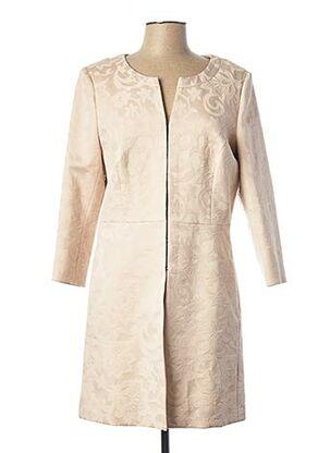 Veste casual beige COMMA, pour femme