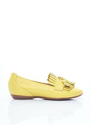 Mocassins jaune WONDERS pour femme