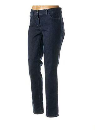 Jeans coupe slim bleu GERRY WEBER pour femme