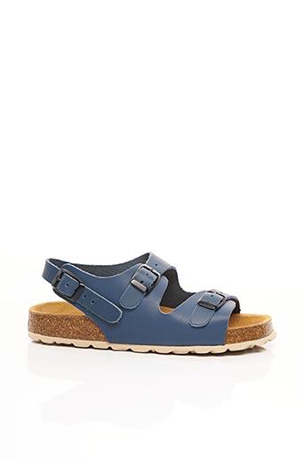 Sandales/Nu pieds bleu PLAKTON pour fille
