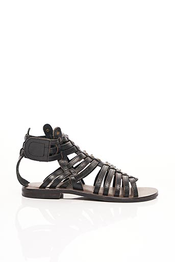 Sandales/Nu pieds noir VALENTINE LA COQUINE pour fille
