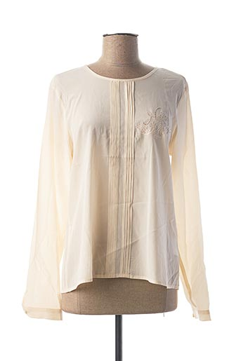 Blouse manches longues beige NICE THINGS pour femme