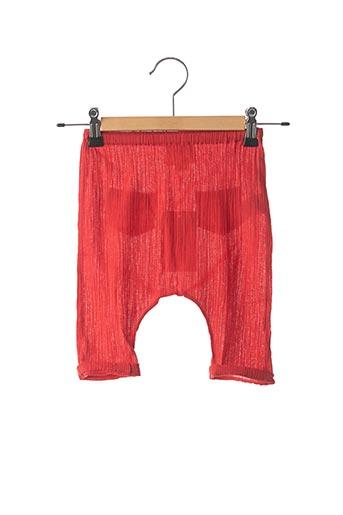 Pantalon casual rouge LOUIS*LOUISE pour enfant