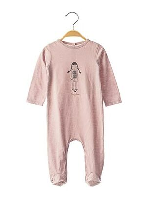 Pyjama rose LOUIS*LOUISE pour fille