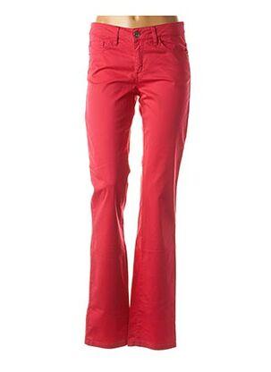 Pantalon casual rose PIERRE CARDIN pour femme