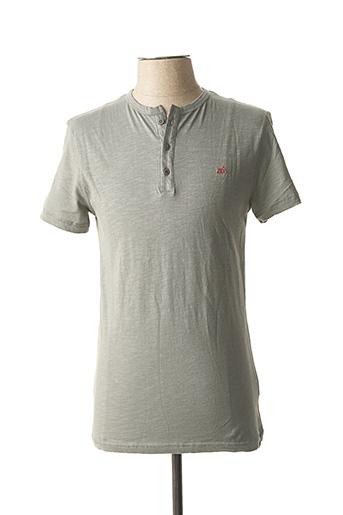 T-shirt manches courtes gris TIBET pour homme