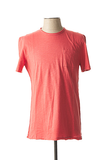 T-shirt manches courtes rouge TIBET pour homme