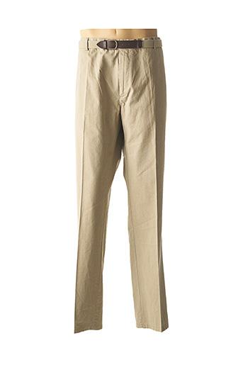 Pantalon chic beige HAROLD pour homme