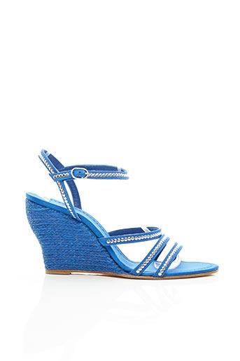 Espadrilles bleu CASTANER pour femme
