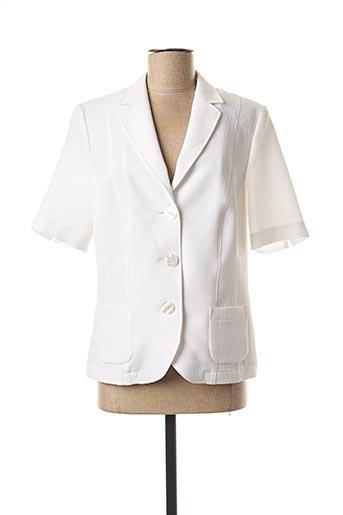 Veste chic / Blazer blanc LEBEK pour femme