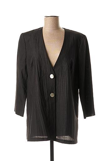 Veste chic / Blazer noir FRANCOISE pour femme