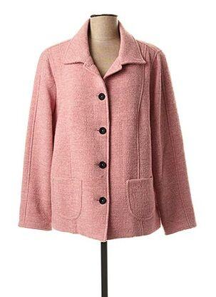 Manteau court rose PAUPORTÉ pour femme