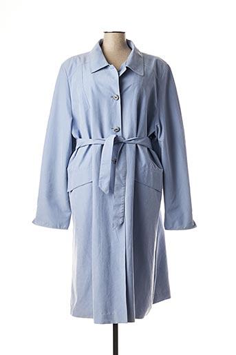 Imperméable/Trench bleu ARIELLE pour femme