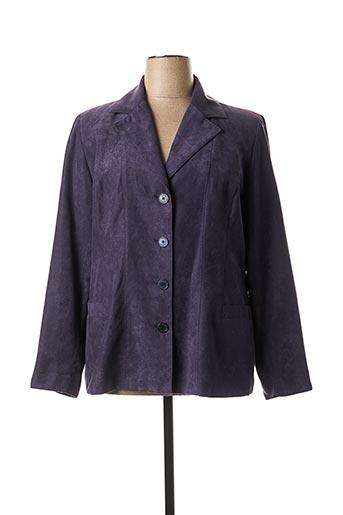 Veste chic / Blazer violet HAVREY pour femme