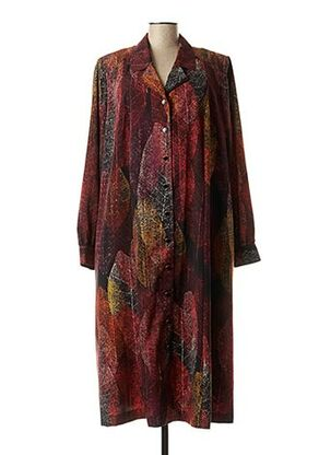 Robe mi-longue orange FRANCOISE DE FRANCE pour femme