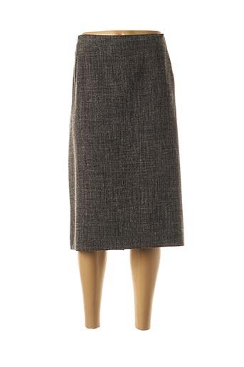 Jupe mi-longue gris MAYERLINE pour femme