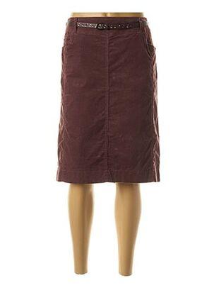 Jupe mi-longue violet GERRY WEBER pour femme