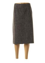 Jupe mi-longue gris MAYERLINE pour femme seconde vue