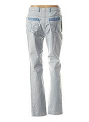 Pantalon casual bleu WEINBERG pour femme seconde vue