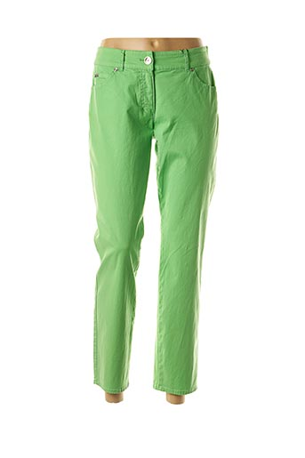 Pantalon 7/8 vert GERRY WEBER pour femme