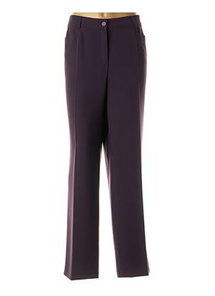 Pantalon chic violet BASLER pour femme