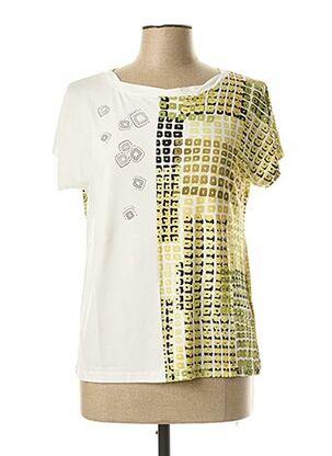 T-shirt manches courtes vert PAUPORTÉ pour femme