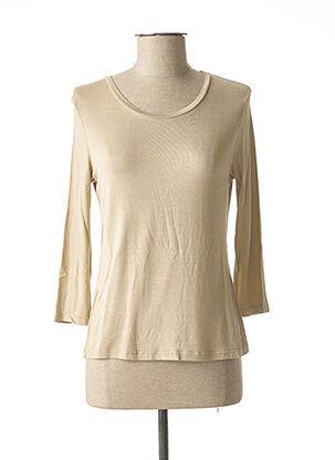 T-shirt manches longues beige WEINBERG pour femme