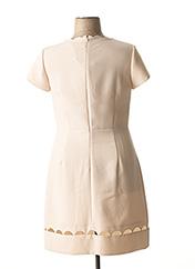 Robe mi-longue beige GEORGES RECH pour femme seconde vue