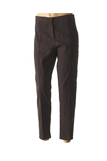Pantalon 7/8 marron GEORGES RECH pour femme