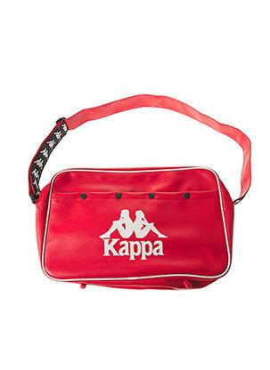 Sac rouge KAPPA pour unisexe