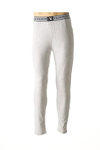 Legging gris CHEVIGNON pour homme