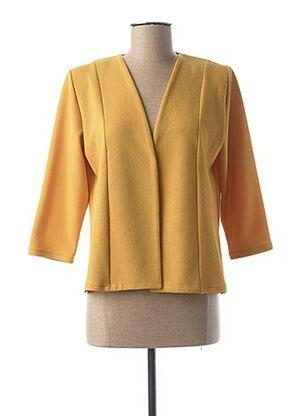 Veste casual jaune GEVANA pour femme