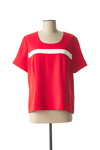 Top rouge ANNE KELLY pour femme