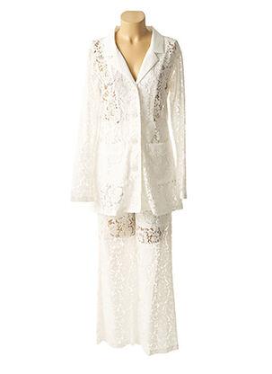 Veste/pantalon blanc ODEMAI pour femme