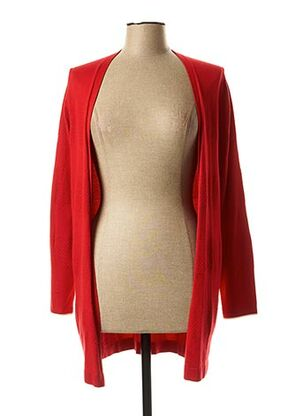 Gilet manches longues rouge STREET ONE pour femme