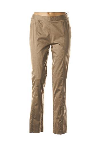 Pantalon casual vert DIKTON'S pour femme