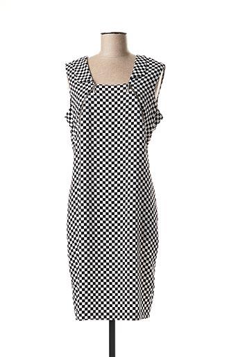 Robe mi-longue noir CAROLINE BISS pour femme