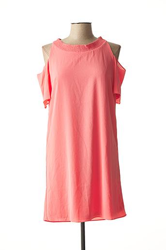 Robe mi-longue rose ESQUALO pour femme