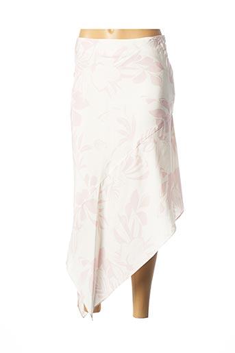Jupe mi-longue rose MAX & MOI pour femme