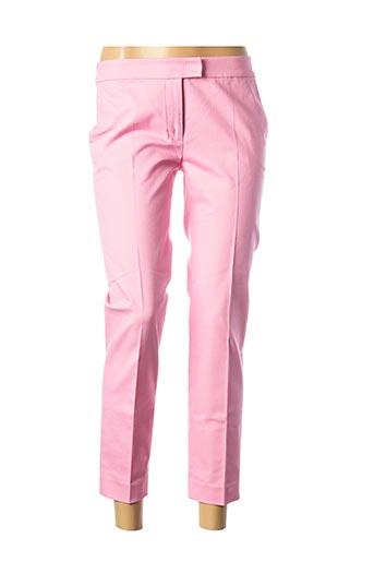 Pantalon 7/8 rose MOSCHINO pour femme