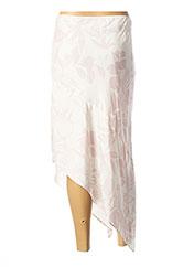 Jupe mi-longue rose MAX & MOI pour femme seconde vue
