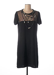 Robe pull noir MOSCHINO pour femme seconde vue