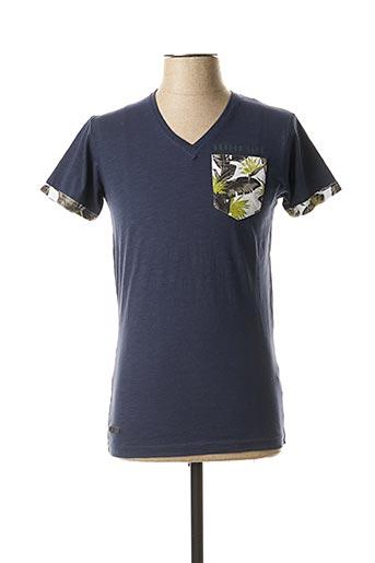T-shirt manches courtes bleu HOPENLIFE pour homme