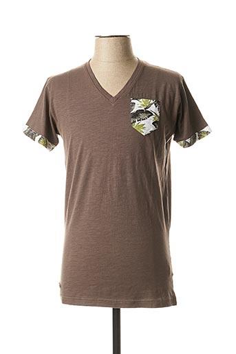 T-shirt manches courtes gris HOPENLIFE pour homme