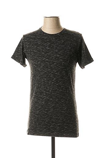 T-shirt manches courtes noir HOPENLIFE pour homme