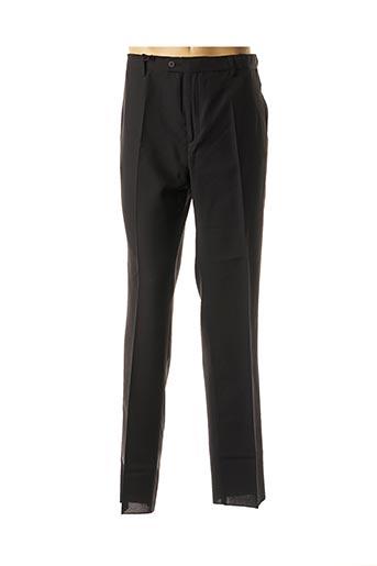 Pantalon chic noir PIERRE D'ARLANC pour homme