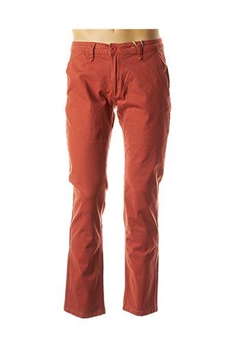 Pantalon chic orange HOPENLIFE pour homme