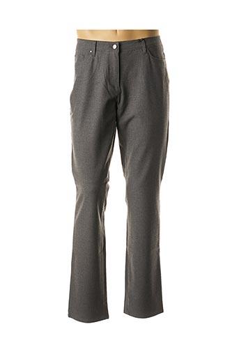 Pantalon casual gris GERKE MY PANTS pour homme