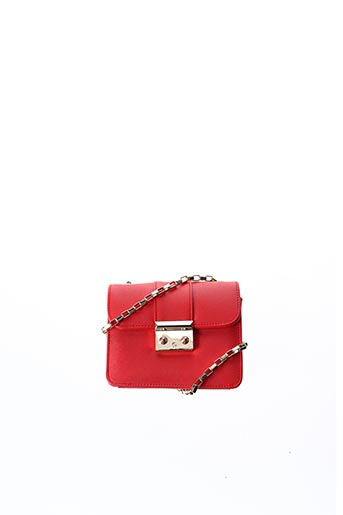 Pochette rouge L'(AE)TELIER CAESARS pour femme