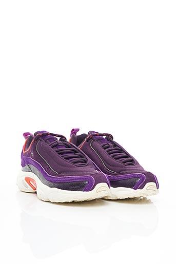 Baskets violet REEBOK pour unisexe